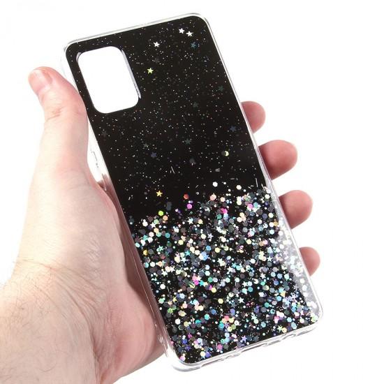 Чехол ТПУ с блестками для Samsung Galaxy A51, арт.011057