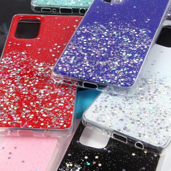 Чехол ТПУ с блестками для Samsung Galaxy A71, арт.011057