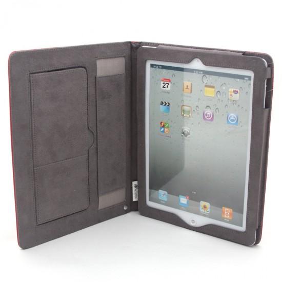 Кожаный чехол-подставка NOSSON для iPad 2, арт.002295