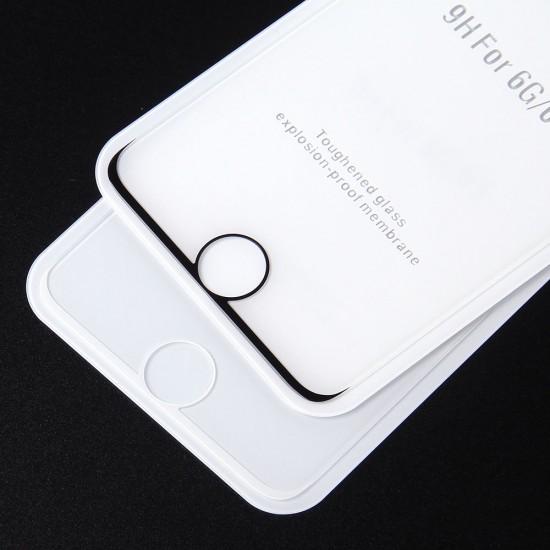 Защитное стекло Full Glue Premium для iPhone 6/6S на полный экран, арт. 011692
