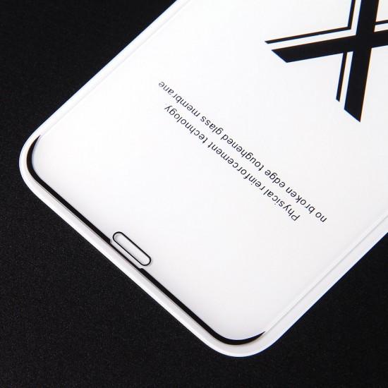Защитное стекло Full Glue Premium для iPhone X на полный экран, арт. 011692