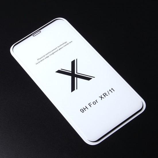 Защитное стекло Full Glue Premium для iPhone XR на полный экран, арт. 011692