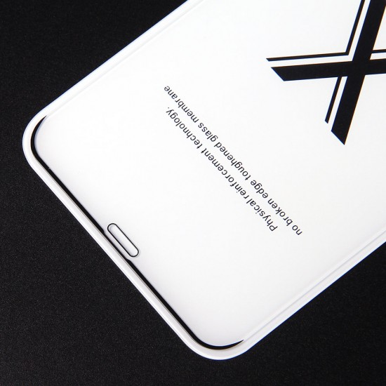 Защитное стекло Full Glue Premium для iPhone XS Max на полный экран, арт. 011692
