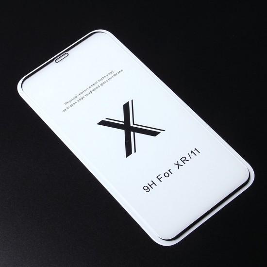 Защитное стекло Full Glue Premium для iPhone 11 на полный экран, арт. 011692