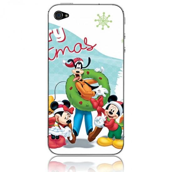 Виниловая пленка для iPhone 4/4S Веселая компания, арт.i40155