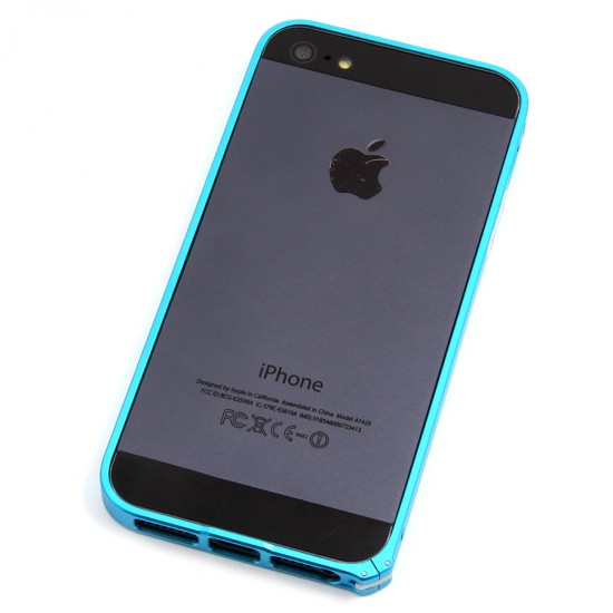 Бампер Cross металлический 0,7 мм для iPhone 5/5S, арт.007423