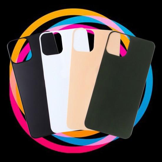 Защитное стекло матовое на заднюю панель для iPhone 11 Pro, арт.011547