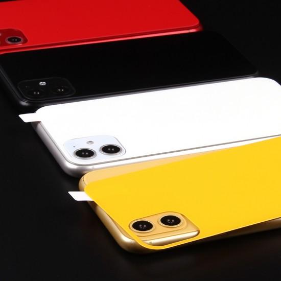 Защитное стекло матовое на заднюю панель для iPhone 11, арт.011547