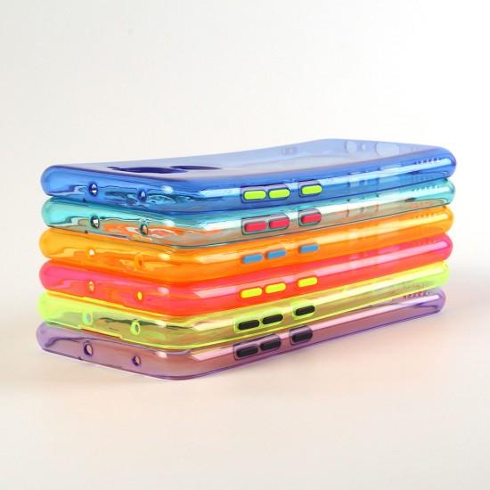 Чехол ТПУ Неон для Xiaomi Redmi Note 9, арт.011744