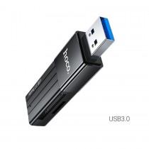Картридер HOCO HB20, USB 3.0, арт.012140