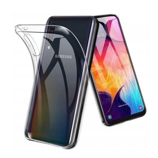 Силиконовый чехол для Samsung Galaxy A50, 1 мм, арт.008291-1