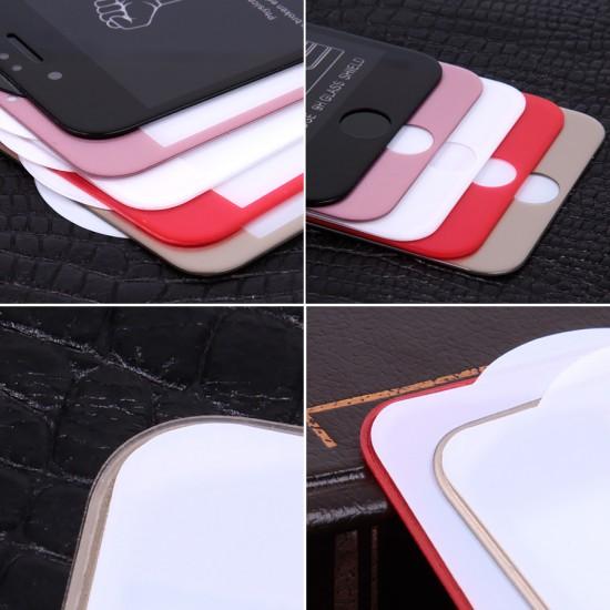 Защитное стекло 5D для iPhone 6/6S на полный экран, арт.009274