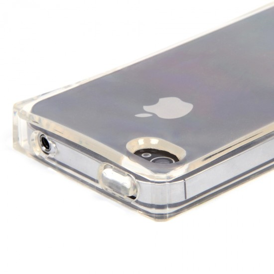 Панель ТПУ Кубик льда для iPhone 4/4S, арт.007265