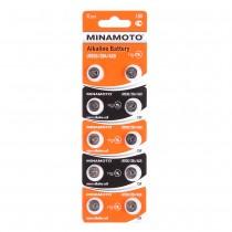 Батарейки MINAMOTO AG9 (LR936)  BL10, арт.012049