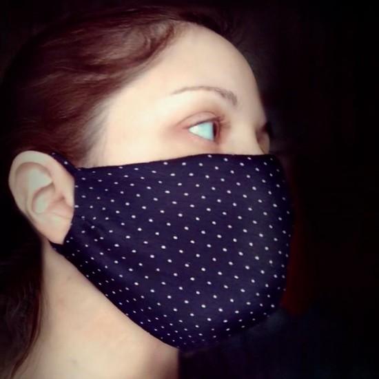 Тканевая защитная маска многоразовая, арт. 011698