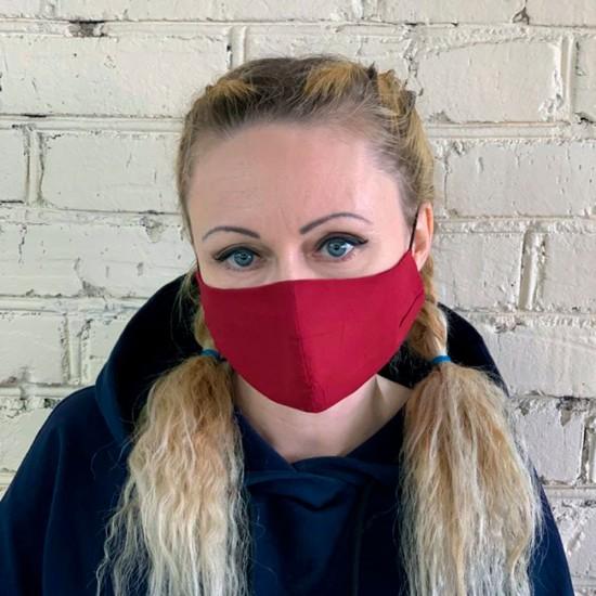 Тканевая защитная маска многоразовая, арт. 011707