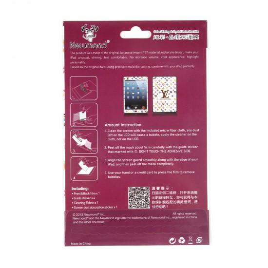 Декоративная защитная пленка 2 в 1 для iPad mini, арт.US-010