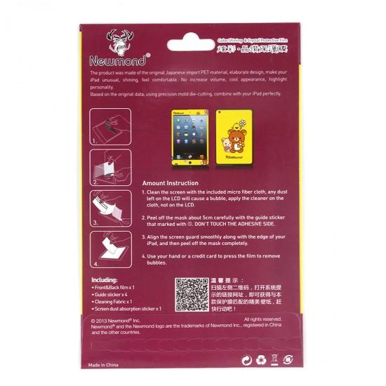 Декоративная защитная пленка 2 в 1 для iPad mini, арт.US-003