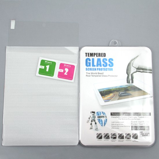 Защитная пленка-стекло для iPad 2/3/4, арт.006540
