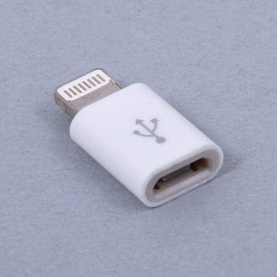 Адаптер micro USB - Lightning арт.006062