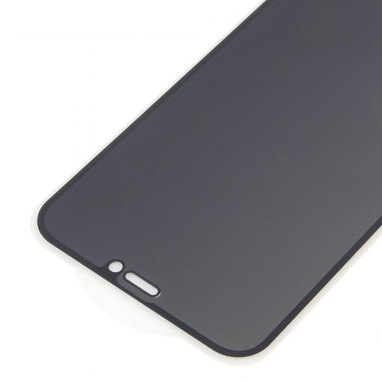 Стекло для iPhone 12 Mini на полный экран, анти-шпион, арт.012454