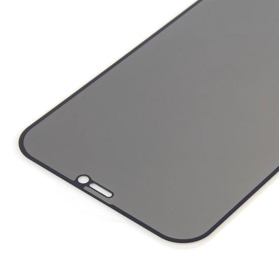 Стекло для iPhone 12/12 Pro на полный экран, анти-шпион, арт.012454