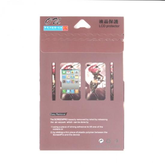 Декоративная пленка 2 в 1 для iPhone 5, арт.T5-020