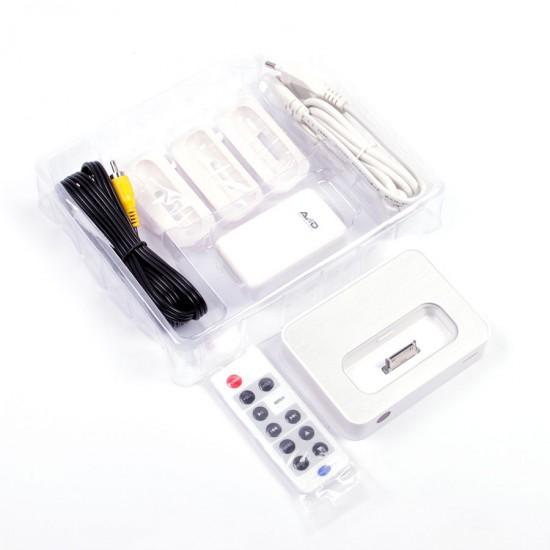 Док-станция Home Link AV Connection Kit для iPod/iPhone 3G/3Gs/4/4S, арт. K-H007