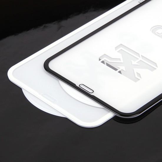 Защитное стекло 5D для iPhone XR на полный экран, арт.009274-1