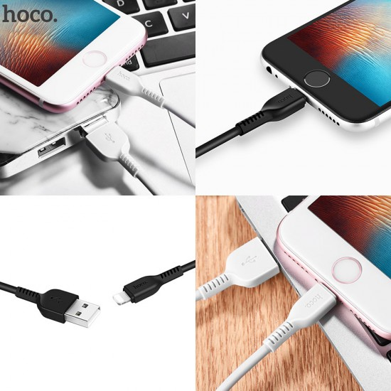 USB-Lightning дата кабель HOCO X20 для iPhone, 3 м, арт.010481
