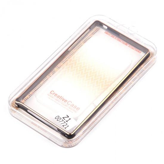Бампер Cross металлический 0,7 мм для Sony Xperia Z1, арт.007721