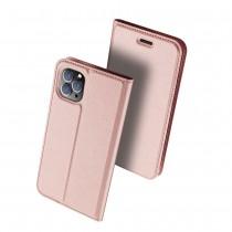 Чехол-книжка Dux Ducis Skin Pro для Xiaomi Redmi Note 8T Розовое золото, арт.012258