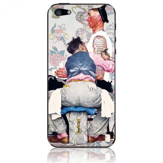 Виниловая пленка для iPhone 5 Морячок, арт.i50072