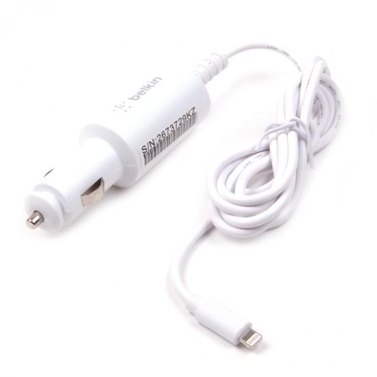 Автомобильное зарядное устройство Belkin для iPhone 5/6/6+ 2000 mAh, арт. 008430