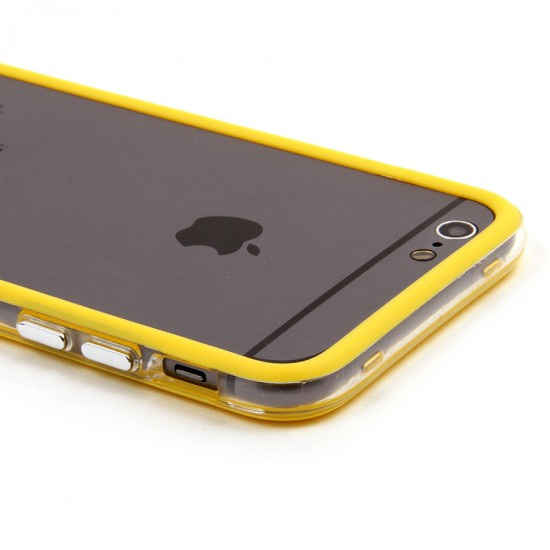 Бампер с прозрачной вставкой для iPhone 6/6s, арт.002203-1