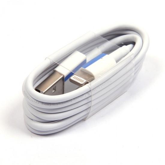 USB дата кабель для Apple iPhone 5/5S/iPad ААА класс тех. упаковка, арт.008821