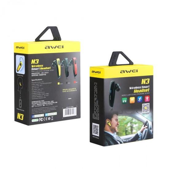 Bluetooth гарнитура Awei N3, арт.010871
