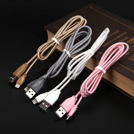USB-Lightning дата кабель AWEI CL-981 1 М, арт.010879