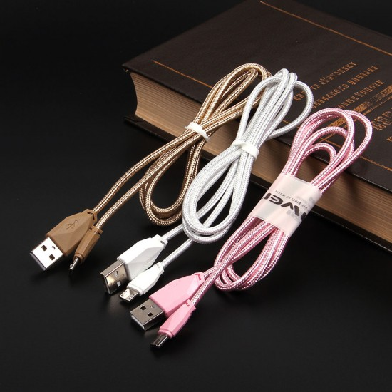 USB-micro USB дата кабель AWEI CL-982 1 М, арт.010880