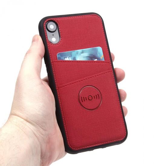 Магнитный чехол с карманом для iPhone XR, арт.010637