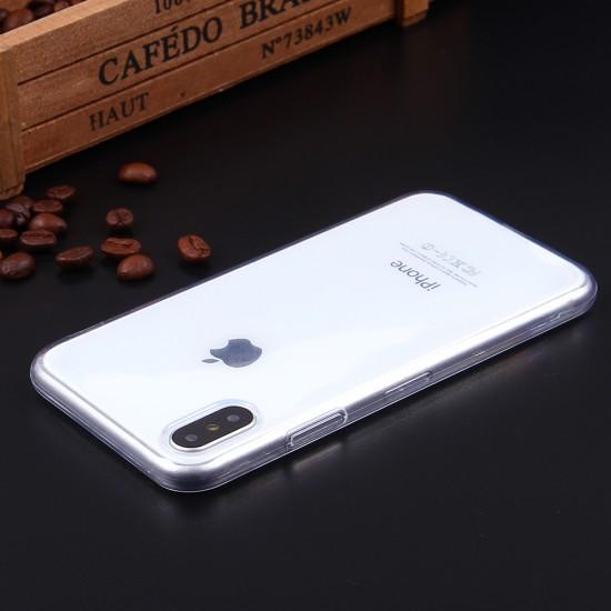 Силиконовый чехол для iPhone X/XS, 1 mm, арт.008291-1
