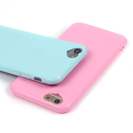 Силиконовый чехол с вырезом-сердечком для iPhone 6/6S, арт.010940