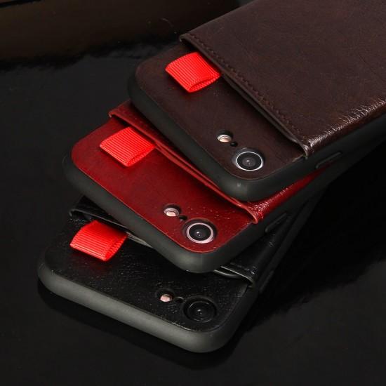 Кожанный чехол JDK с карманом для для iPhone 7, арт.010551