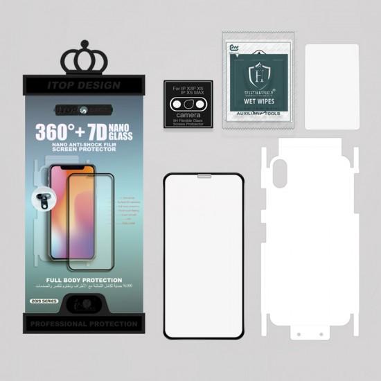Набор защитных стекол 3 в 1 для iPhone XS Max, арт.011007