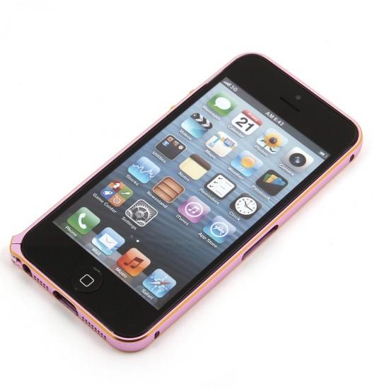 Бампер Cross металлический 0,7 мм для iPhone 5/5S, арт.007721