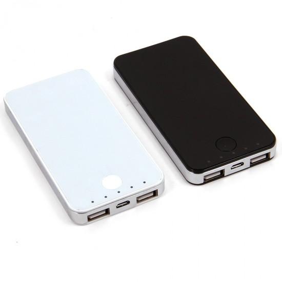Внешний аккумулятор универсальный Power Bank 6000 mAh, арт.007448