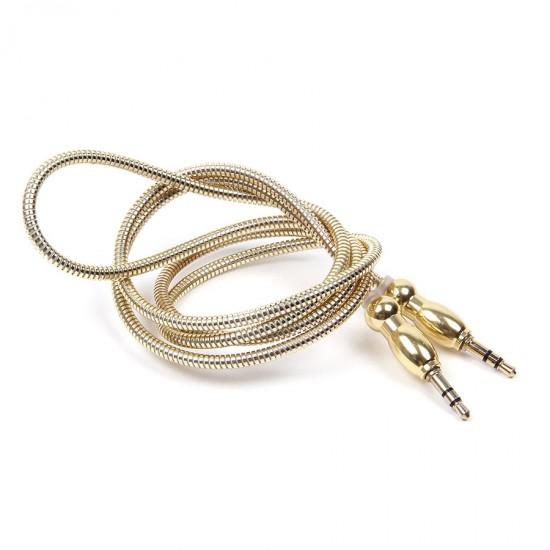 Aux аудио кабель 1 метр, арт.010018