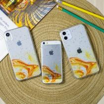 Силиконовый чехол Акварель для iPhone 12 Mini, арт. 011855