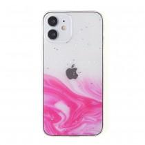Силиконовый чехол Акварель для iPhone 12 Mini, арт. 011858