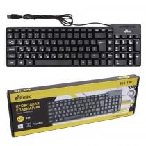 Клавиатура Ritmix RKB-100, USB арт.010251
